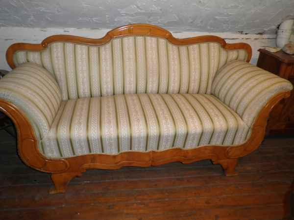 Biedermeier Sofa, Kirsche