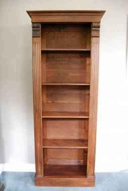 Jugendstil Regal/Bücherregal aus Eiche