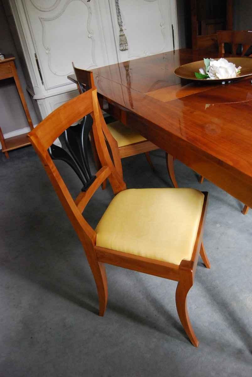 4 Stühle, Kirschbaum