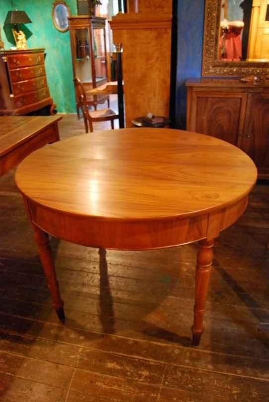 runder ausziehtisch r ster ulme ca 1840. Black Bedroom Furniture Sets. Home Design Ideas