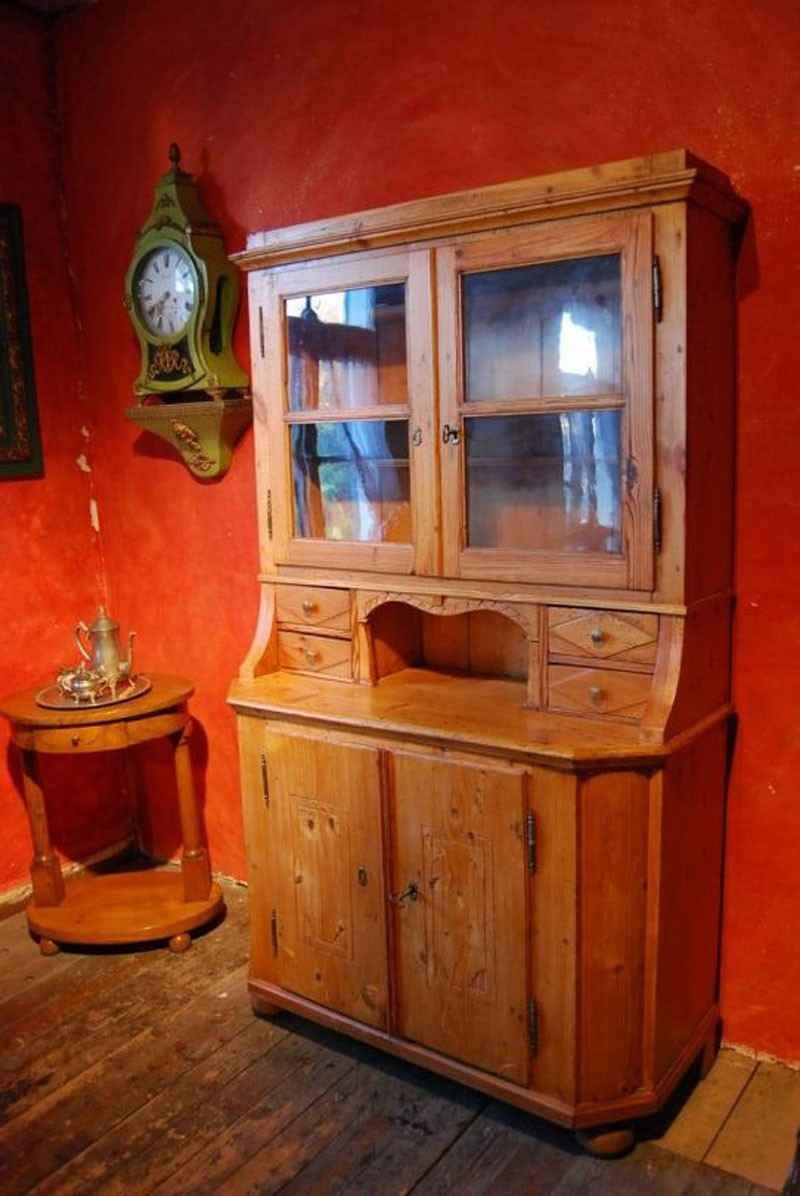 Küchenschrank, Weichholz, ca. 1770