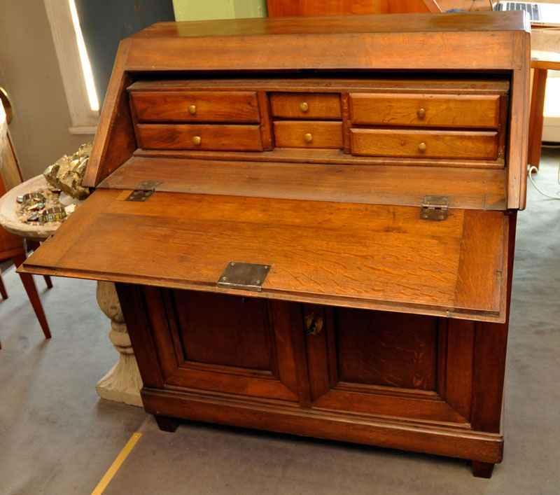kleiner sekret r eiche ca 1850 antiquit ten bro hauser m hle solingen. Black Bedroom Furniture Sets. Home Design Ideas