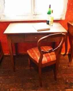 Kleiner Tisch, Eiche, ca. 1820