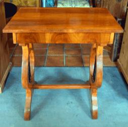 Kleiner Lyra Tisch, Kirsche, ca. 1820