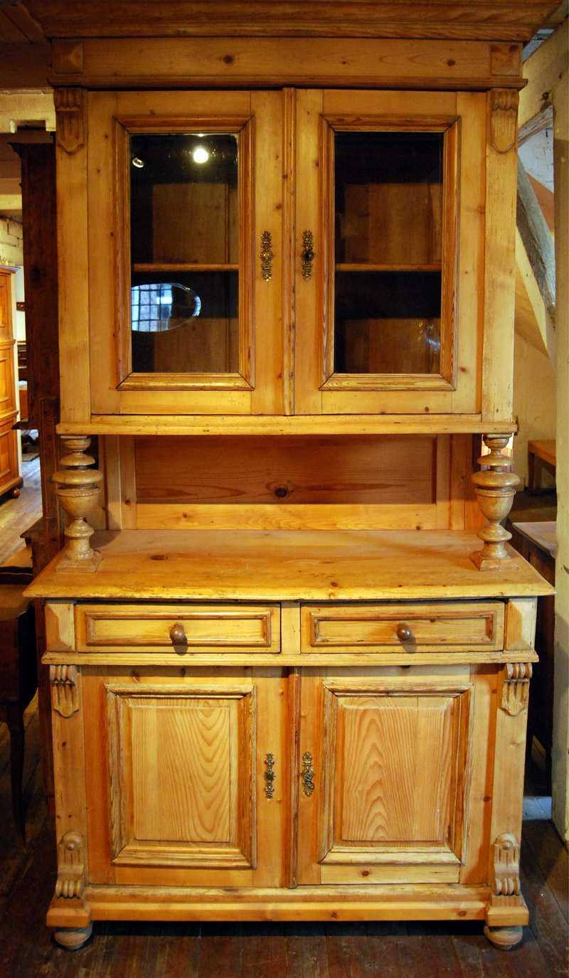 Küchenschrank, Kiefer, ca. 1880