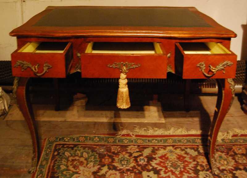 Schreibtisch, Mahagoni, ca. 1780