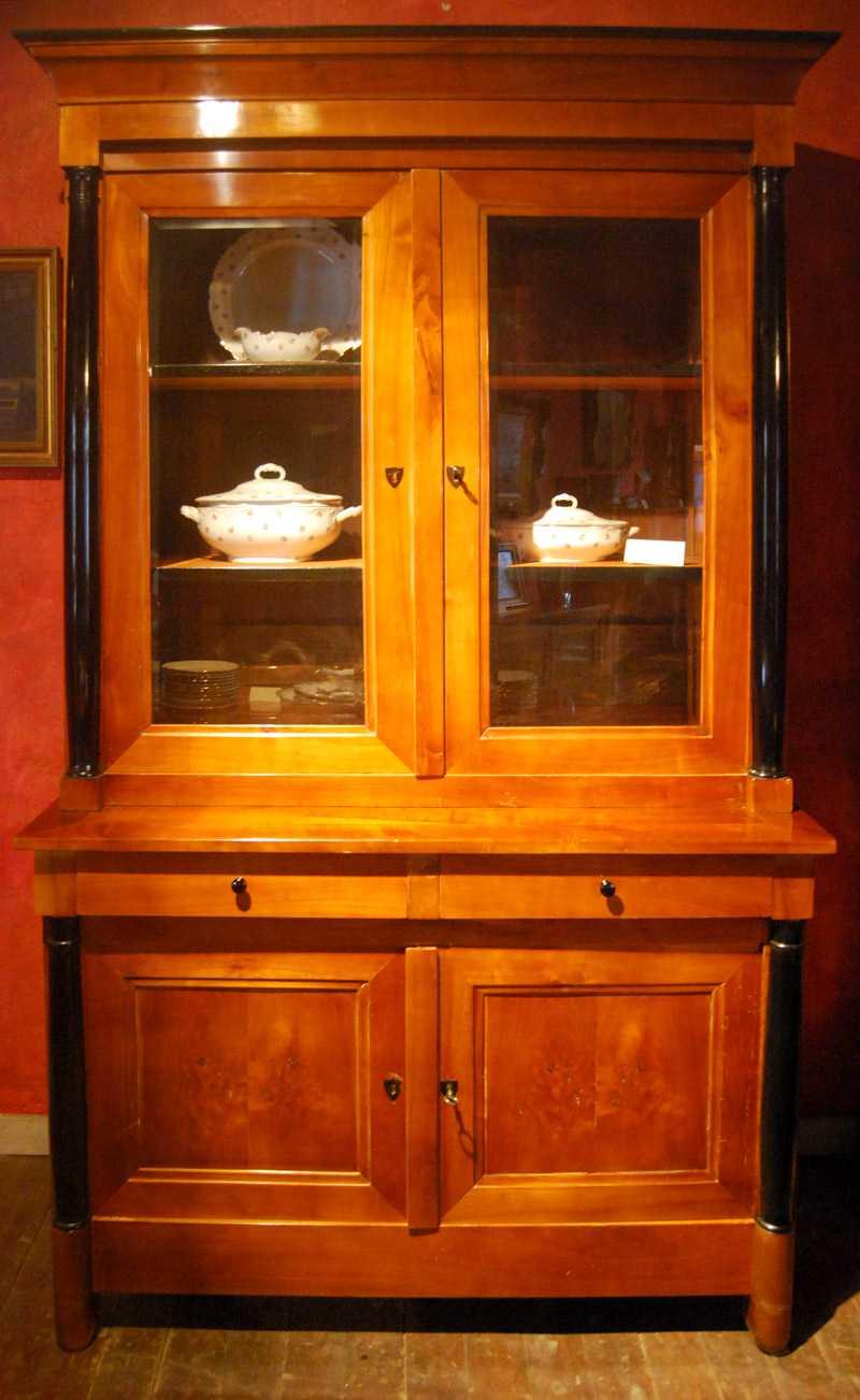 Großer Küchenschrank, Kiefer, ca. 1830