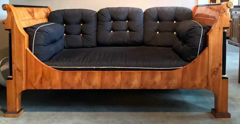 Biedermeier Bett / Sofa